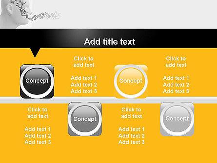 Generating Words PowerPoint Template Slide 18