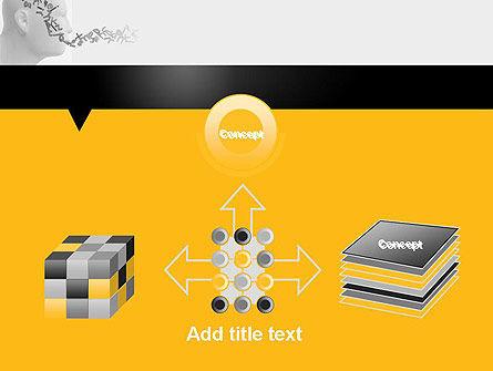 Generating Words PowerPoint Template Slide 19