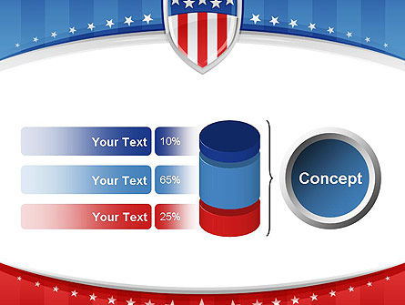 Patriotic Background PowerPoint Template Slide 11