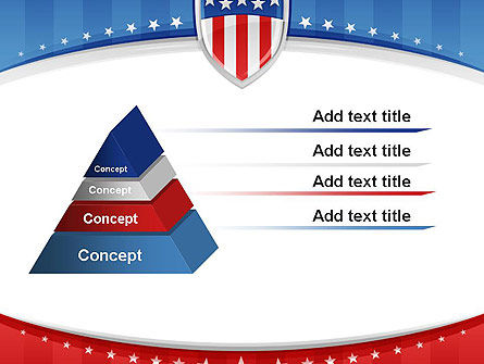 Patriotic Background PowerPoint Template Slide 12