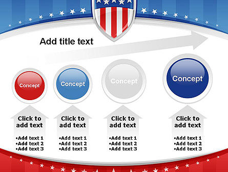 Patriotic Background PowerPoint Template Slide 13