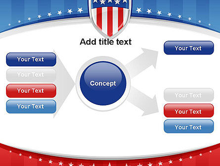 Patriotic Background PowerPoint Template Slide 14