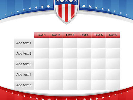 Patriotic Background PowerPoint Template Slide 15
