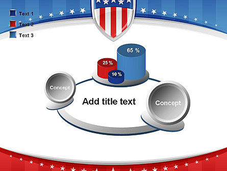 Patriotic Background PowerPoint Template Slide 16