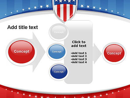 Patriotic Background PowerPoint Template Slide 17