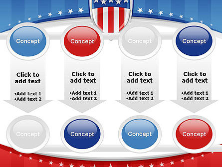 Patriotic Background PowerPoint Template Slide 18