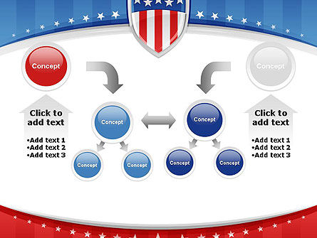 Patriotic Background PowerPoint Template Slide 19