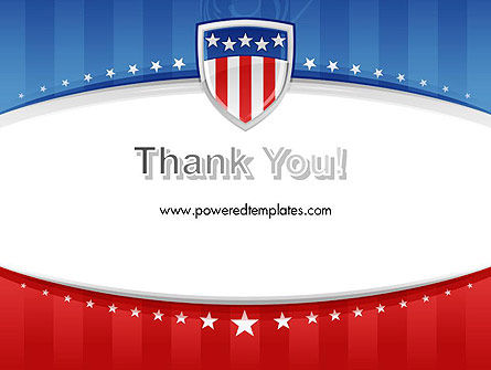 Patriotic Background PowerPoint Template Slide 20