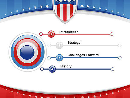 Patriotic Background PowerPoint Template Slide 3