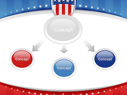 Patriotic Background PowerPoint Template Slide 4