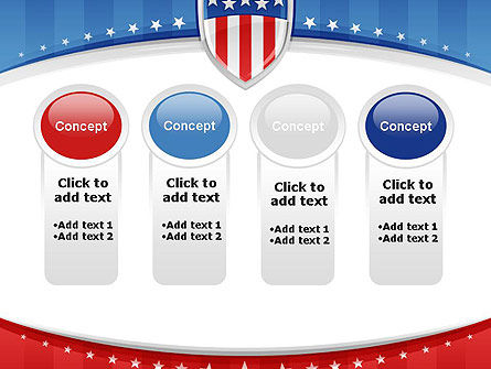 Patriotic Background PowerPoint Template Slide 5