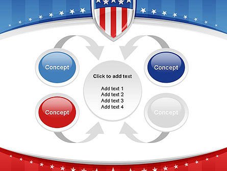 Patriotic Background PowerPoint Template Slide 6