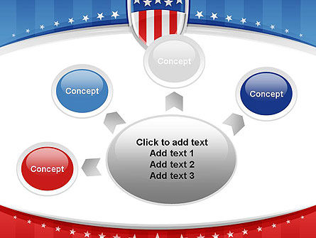 Patriotic Background PowerPoint Template Slide 7