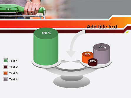 At Grocery Store PowerPoint Template Slide 10