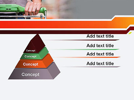 At Grocery Store PowerPoint Template Slide 12