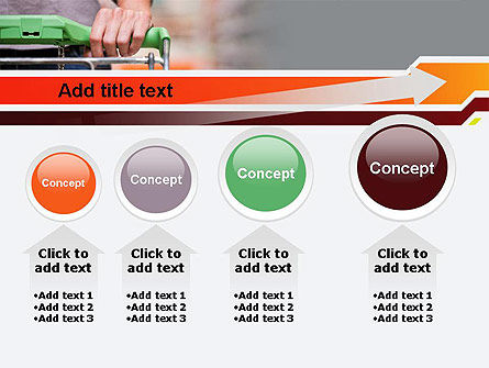 At Grocery Store PowerPoint Template Slide 13