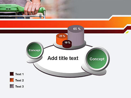 At Grocery Store PowerPoint Template Slide 16