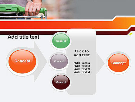 At Grocery Store PowerPoint Template Slide 17