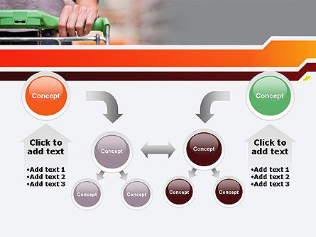 At Grocery Store PowerPoint Template Slide 19