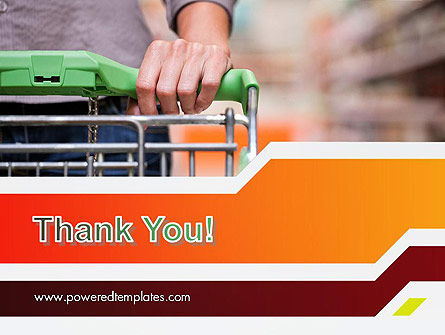 At Grocery Store PowerPoint Template Slide 20