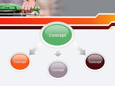 At Grocery Store PowerPoint Template Slide 4