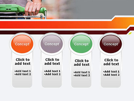 At Grocery Store PowerPoint Template Slide 5