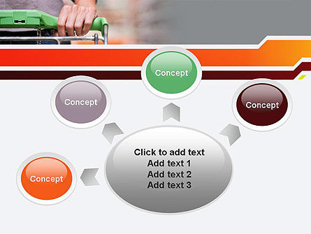 At Grocery Store PowerPoint Template Slide 7
