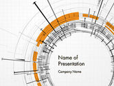 Abstract/Textures: Abstract Turbulence PowerPoint Template #11975