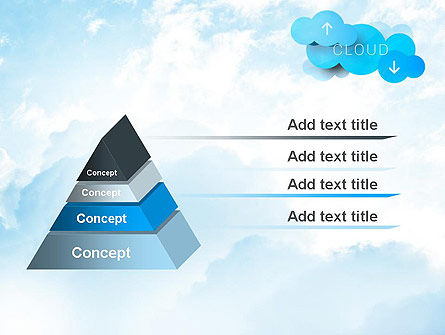 Cloud Technology Concept PowerPoint Template, Slide 4, 11977, Technology and Science — PoweredTemplate.com
