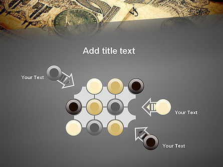 Pile of Old European Money PowerPoint Template Slide 10