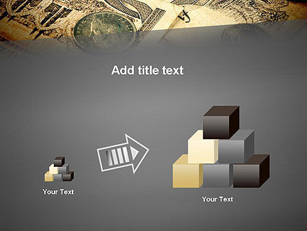 Pile of Old European Money PowerPoint Template Slide 13