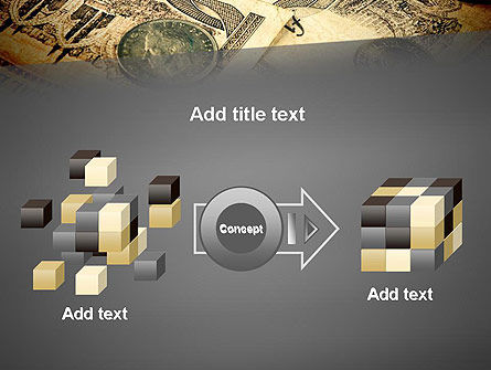 Pile of Old European Money PowerPoint Template Slide 17