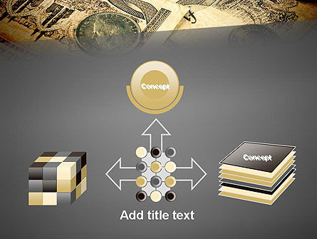 Pile of Old European Money PowerPoint Template Slide 19