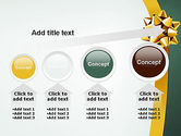 Gold Ribbon PowerPoint Template#13