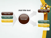 Gold Ribbon PowerPoint Template#14