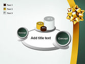 Gold Ribbon PowerPoint Template#16