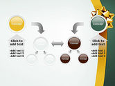 Gold Ribbon PowerPoint Template#19