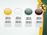 Gold Ribbon PowerPoint Template#5