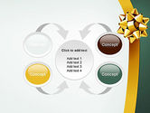 Gold Ribbon PowerPoint Template#6