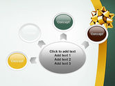 Gold Ribbon PowerPoint Template#7