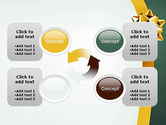 Gold Ribbon PowerPoint Template#9