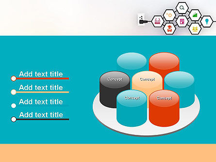 Education Support System PowerPoint Template Slide 12