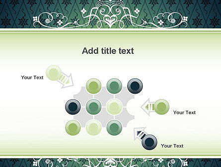 Classic Pattern PowerPoint Template Slide 10