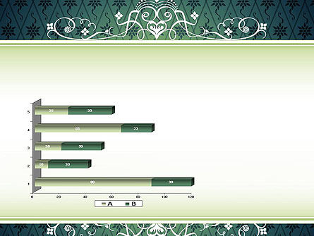 Classic Pattern PowerPoint Template Slide 11