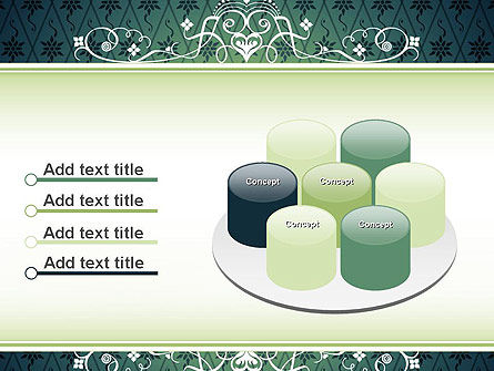 Classic Pattern PowerPoint Template Slide 12