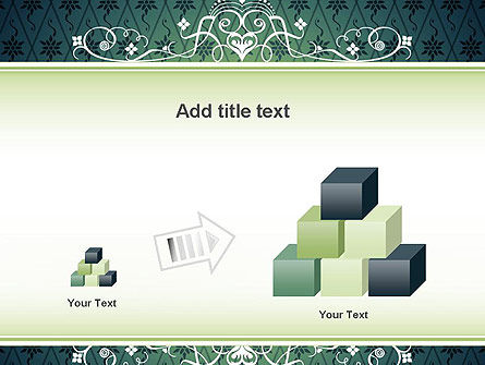Classic Pattern PowerPoint Template Slide 13