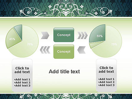 Classic Pattern PowerPoint Template Slide 16