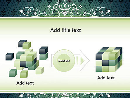 Classic Pattern PowerPoint Template Slide 17