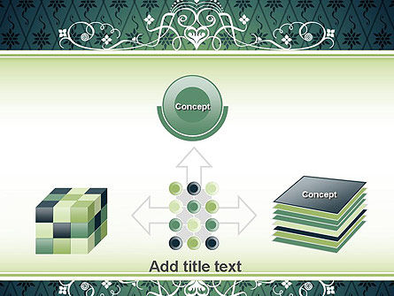 Classic Pattern PowerPoint Template Slide 19