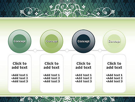 Classic Pattern PowerPoint Template Slide 5